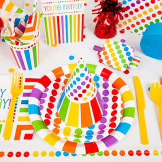 Party Supplies By Colour