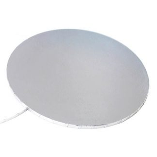 Silver Round Cake Boards